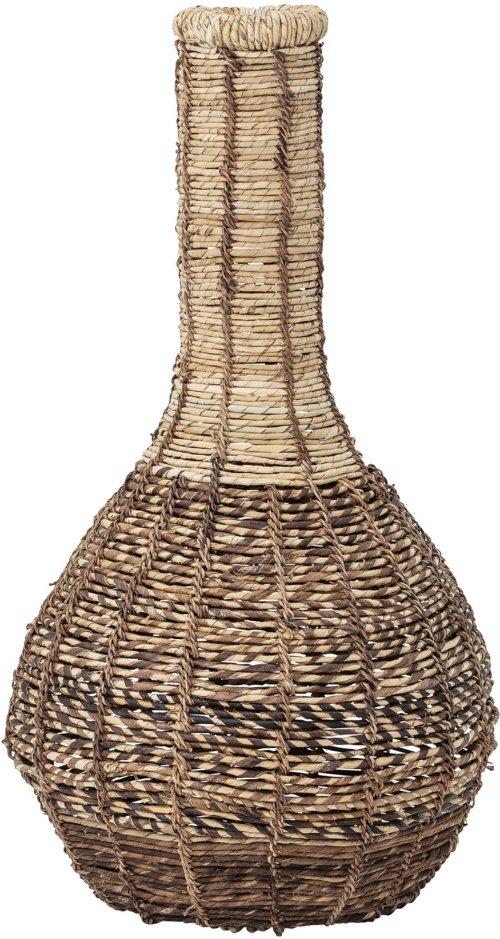 På billedet ser du variationen Gulbin, Deko Kurv, Natur, Abaca fra brandet Creative Collection i en størrelse D: 38 cm. H: 76 cm. i farven Natur