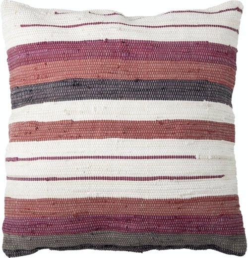 På billedet ser du variationen Juliet, Pude, Rød, Bomuld fra brandet Creative Collection i en størrelse B: 80 cm. L: 80 cm. i farven Rød