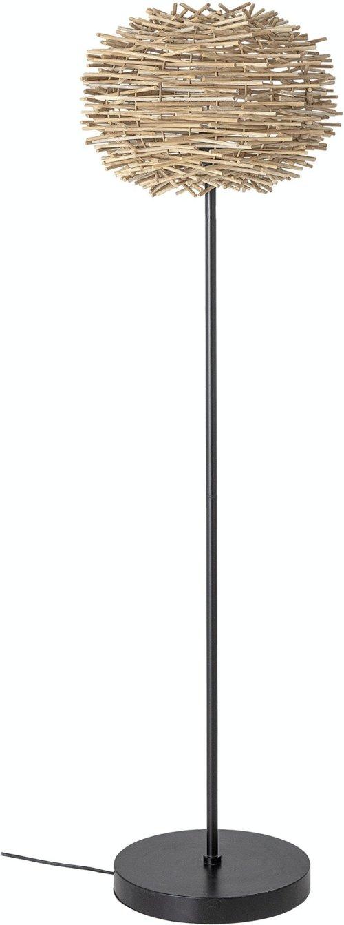 På billedet ser du variationen Callisto, Gulvlampe, Sort, Metal fra brandet Bloomingville i en størrelse D: 45 cm. H: 147,5 cm. i farven Sort