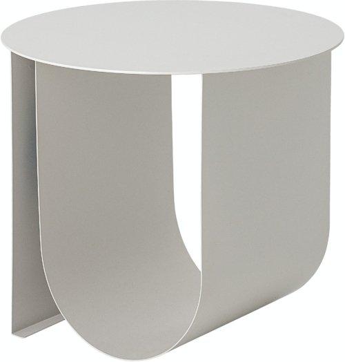 På billedet ser du variationen Cher, Sidebord, Grå, Metal fra brandet Bloomingville i en størrelse D: 43 cm. H: 38 cm. i farven Grå