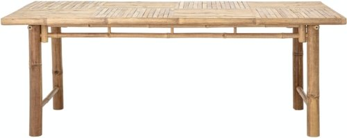 På billedet ser du variationen Sole, Spisebord, Natur, Bambus fra brandet Bloomingville i en størrelse H: 74 cm. B: 100 cm. L: 200 cm. i farven Natur