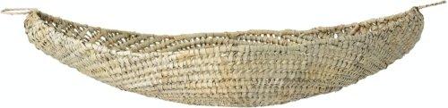 På billedet ser du variationen Lyuran, Kurv, Natur, Karagumoy fra brandet Bloomingville i en størrelse H: 20 cm. B: 54 cm. L: 94 cm. i farven Natur