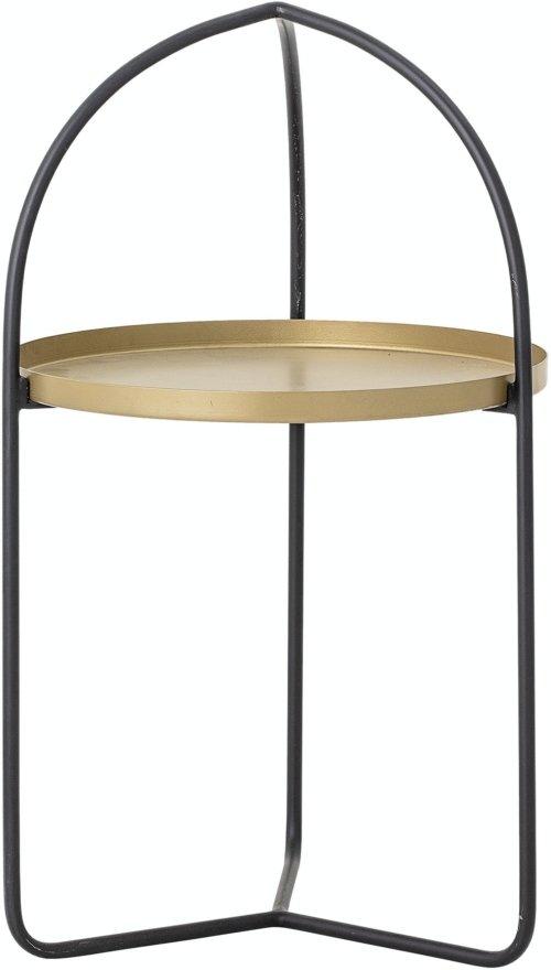 På billedet ser du variationen Ins, Bakke Bord, Guld, Metal fra brandet Bloomingville i en størrelse D: 40,5 cm. H: 71 cm. i farven Guld