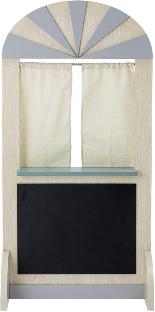 På billedet ser du variationen Bertine, Dukketeater, Natur, MDF fra brandet Bloomingville i en størrelse H: 120 cm. B: 40 cm. L: 60 cm. i farven Natur