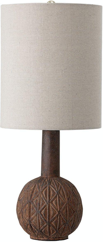 På billedet ser du variationen Jwan, Bordlampe, Brun, Terrakotta fra brandet Creative Collection i en størrelse D: 25,5 cm. H: 63,5 cm. i farven Brun