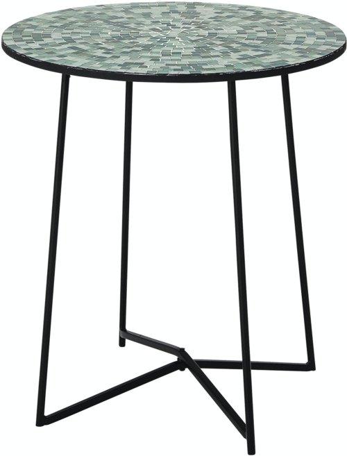 På billedet ser du variationen Sus, Sidebord, Grøn, Glas fra brandet Bloomingville i en størrelse D: 40 cm. H: 47 cm. i farven Grøn