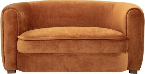 På billedet ser du variationen Malala, Sofa, Brun, Polyester fra brandet Creative Collection i en størrelse H: 72 cm. B: 80 cm. L: 152 cm. i farven Brun