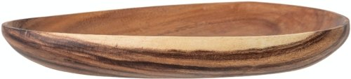 På billedet ser du variationen Avia, Skål, Brun, Akacie fra brandet Bloomingville i en størrelse H: 5 cm. B: 30 cm. L: 39 cm. i farven Brun