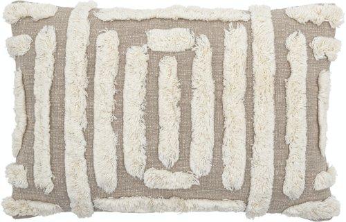 På billedet ser du variationen Gohar, Pude, Natur, Bomuld fra brandet Creative Collection i en størrelse B: 40 cm. L: 60 cm. i farven Natur