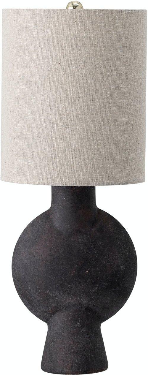 På billedet ser du variationen Sergio, Bordlampe, Brun, Terrakotta fra brandet Bloomingville i en størrelse D: 20,5 cm. H: 54,5 cm. i farven Brun