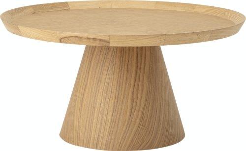 På billedet ser du variationen Luana, Sofabord, Natur, Eg fra brandet Bloomingville i en størrelse D: 74 cm. H: 37 cm. i farven Natur