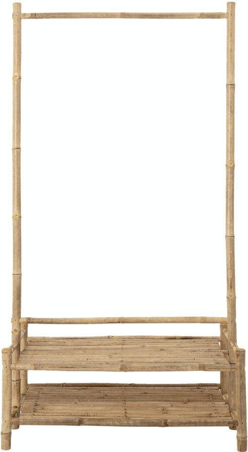 På billedet ser du variationen Christianna, Reol, Natur, Bambus fra brandet Bloomingville i en størrelse H: 130 cm. B: 35 cm. L: 60 cm. i farven Natur