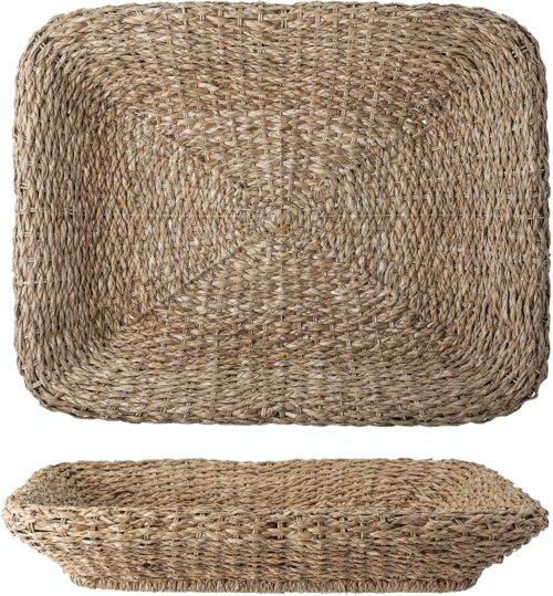 På billedet ser du variationen Parvel, Bakke, Natur, Bankuan Grass fra brandet Creative Collection i en størrelse H: 15 cm. B: 63,5 cm. L: 81 cm. i farven Natur