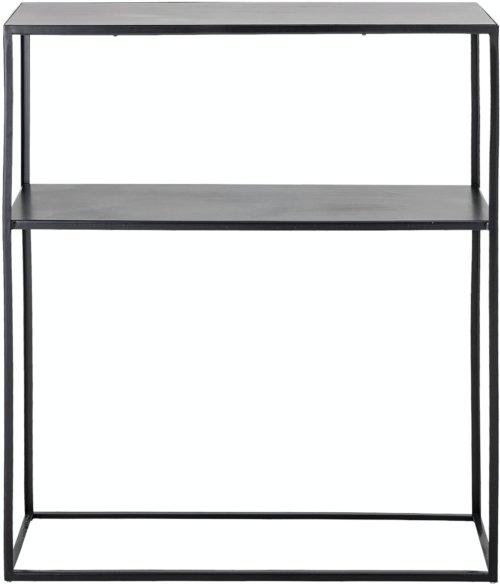 På billedet ser du variationen Gloria, Konsolbord, Sort, Metal fra brandet Bloomingville i en størrelse H: 90 cm. B: 30,5 cm. L: 75,5 cm. i farven Sort