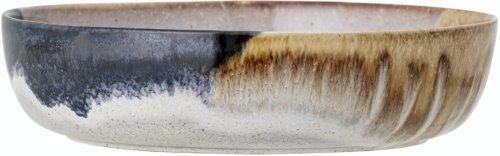 På billedet ser du variationen Jules, Serveringsskål, Stentøj fra brandet Bloomingville i en størrelse D: 25 cm. H: 6,5 cm. i farven Multi