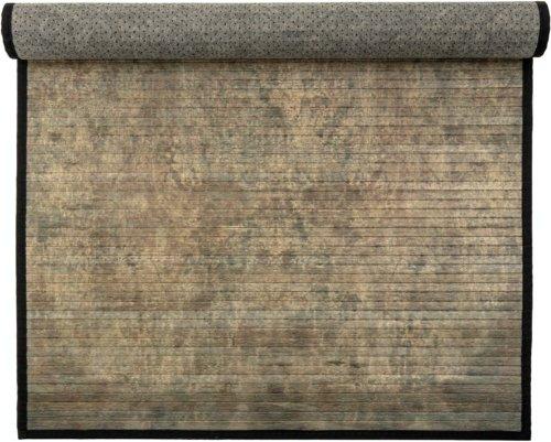 På billedet ser du variationen Ibrahem, Tæppe, Sort, Bambus fra brandet Creative Collection i en størrelse H: 0,5 cm. B: 150 cm. L: 90 cm. i farven Sort