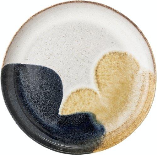 På billedet ser du variationen Jules, Serveringsfad, Stentøj fra brandet Bloomingville i en størrelse D: 35 cm. H: 4 cm. i farven Multi