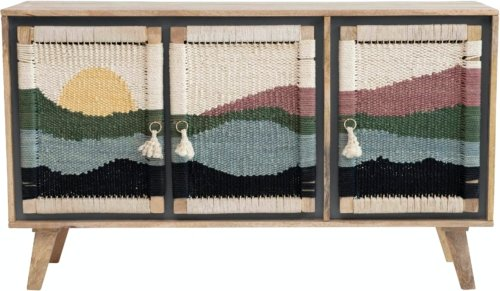 På billedet ser du variationen Sedik, Skab, Mango fra brandet Creative Collection i en størrelse H: 80 cm. B: 40 cm. L: 140 cm. i farven Multi
