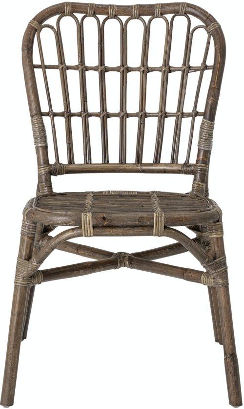 På billedet ser du variationen Honeia, Spisebordsstol, Brun, Rattan fra brandet Creative Collection i en størrelse H: 87 cm. B: 59 cm. L: 48 cm. i farven Brun
