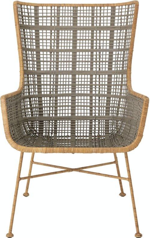 På billedet ser du variationen Lounge, Loungestol, Grøn, Rattan fra brandet Creative Collection i en størrelse H: 102 cm. B: 64 cm. L: 75,5 cm. i farven Grøn