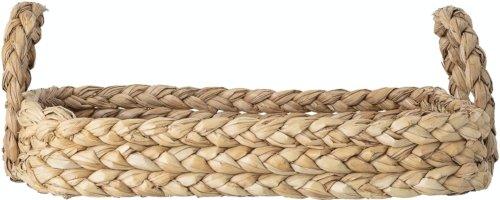 På billedet ser du variationen Surho, Bakke, Natur, Bankuan Grass fra brandet Bloomingville i en størrelse H: 19 cm. B: 42 cm. L: 56 cm. i farven Natur