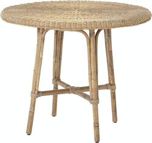 På billedet ser du variationen Julietta, Spisebord, Natur, Rattan fra brandet Bloomingville i en størrelse D: 80 cm. H: 71 cm. i farven Natur