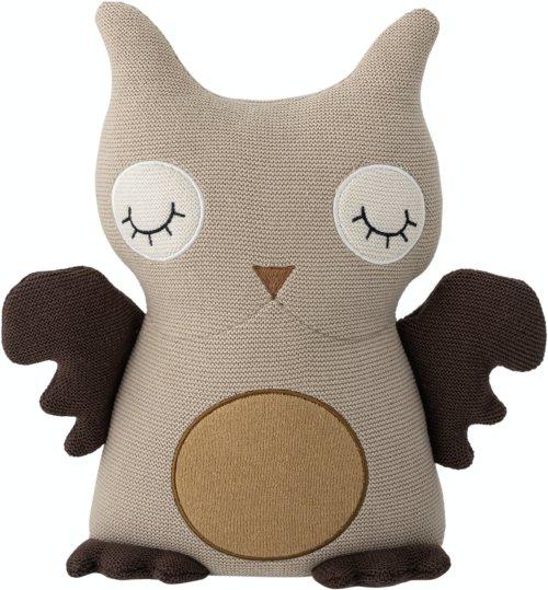 På billedet ser du variationen Hiep, Soft Toy, Brun, Bomuld fra brandet Bloomingville i en størrelse H: 32 cm. B: 11 cm. L: 35 cm. i farven Brun