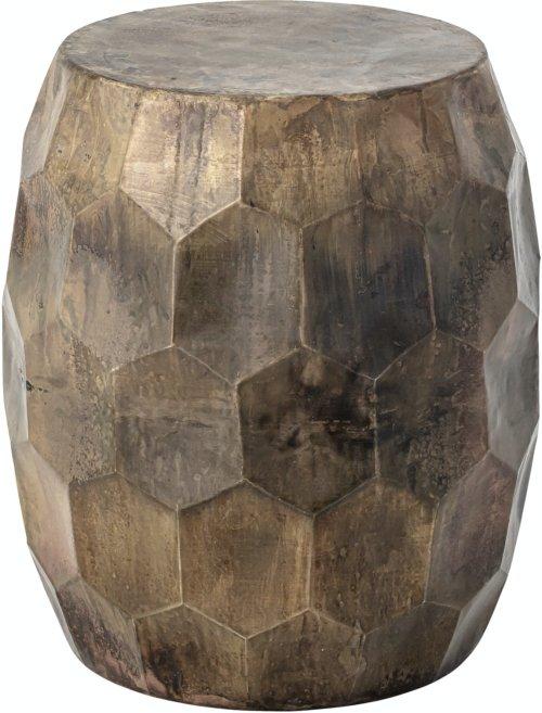 På billedet ser du variationen Huai, Taburet, Messing, Metal fra brandet Creative Collection i en størrelse D: 37,5 cm. H: 47 cm. i farven Messing