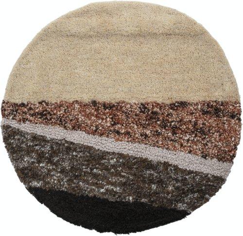 På billedet ser du variationen Naden, Vægdekoration, Uld fra brandet Bloomingville i en størrelse D: 70 cm. i farven Multi