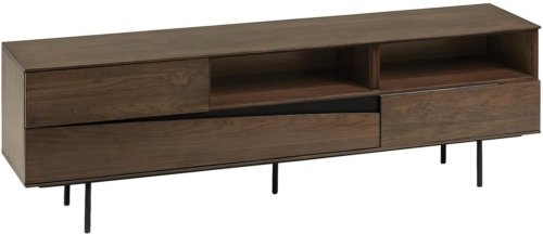 På billedet ser du variationen Cutt, TV-bord fra brandet LaForma i en størrelse H: 56 cm. B: 180 cm. L: 40 cm. i farven Natur/Brun