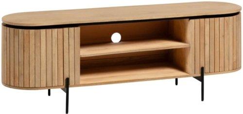 På billedet ser du variationen Licia, TV-bord fra brandet LaForma i en størrelse H: 56 cm. B: 160 cm. L: 43 cm. i farven Natur