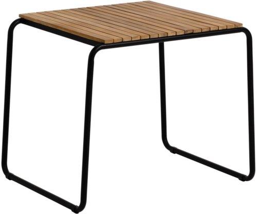På billedet ser du variationen Yukari, Udendørs spisebord fra brandet LaForma i en størrelse H: 73 cm. B: 84 cm. L: 70 cm. i farven Natur/Sort