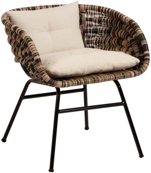 På billedet ser du variationen Lin, Spisebordsstol fra brandet LaForma i en størrelse H: 69 cm. B: 66 cm. L: 61 cm. i farven Natur