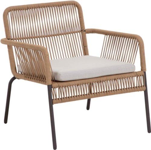 På billedet ser du variationen Samanta, Udendørs lænestol fra brandet LaForma i en størrelse H: 73 cm. B: 70 cm. L: 73 cm. i farven Beige