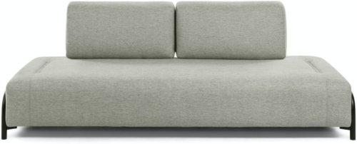 På billedet ser du variationen Compo, 3-personers sofa fra brandet LaForma i en størrelse H: 82 cm. B: 232 cm. L: 98 cm. i farven Beige/Sort