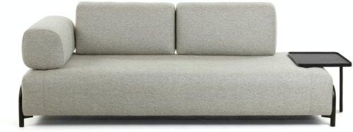 På billedet ser du variationen Compo, 3-personers sofa fra brandet LaForma i en størrelse H: 82 cm. B: 252 cm. L: 98 cm. i farven Beige