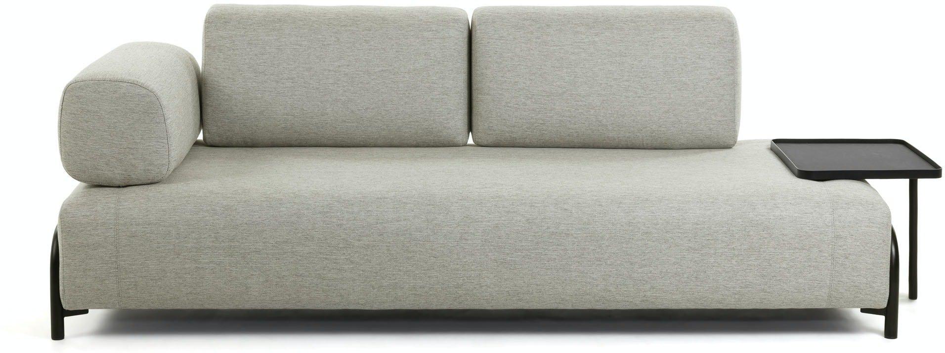 Compo, 3-personers sofa by LaForma (Armlæn venstre, Beige)