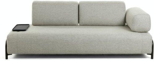På billedet ser du variationen Compo, 3-personers sofa fra brandet LaForma i en størrelse H: 82 cm. B: 232 cm. L: 98 cm. i farven Beige