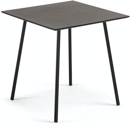 På billedet ser du variationen Mathis, Udendørs spisebord fra brandet LaForma i en størrelse H: 75 cm. B: 75 cm. L: 75 cm. i farven Sort