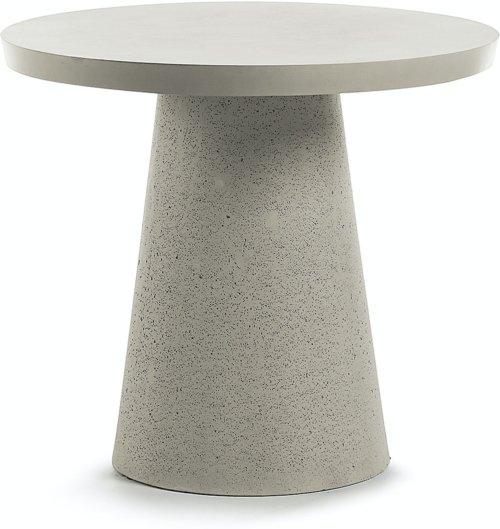 På billedet ser du variationen Sari, Udendørs spisebord fra brandet LaForma i en størrelse H: 76 cm. B: 90 cm. L: 90 cm. i farven Grå