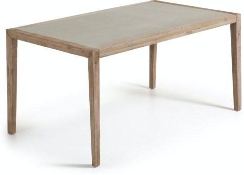 På billedet ser du variationen Vetter, Udendørs spisebord fra brandet LaForma i en størrelse H: 76 cm. B: 160 cm. L: 90 cm. i farven Grå/Natur