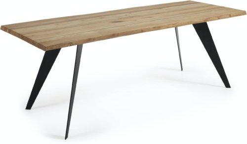 På billedet ser du variationen Koda, Spisebord fra brandet LaForma i en størrelse H: 78 cm. B: 220 cm. L: 100 cm. i farven Natur