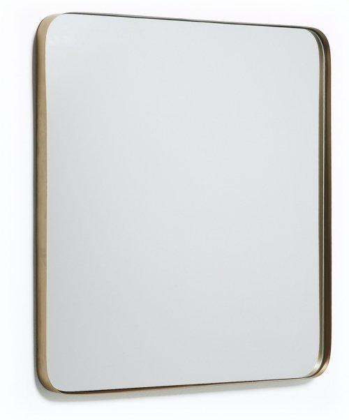 På billedet ser du variationen Marco, Vægspejl fra brandet LaForma i en størrelse H: 60 cm. B: 60 cm. L: 3 cm. i farven Guld