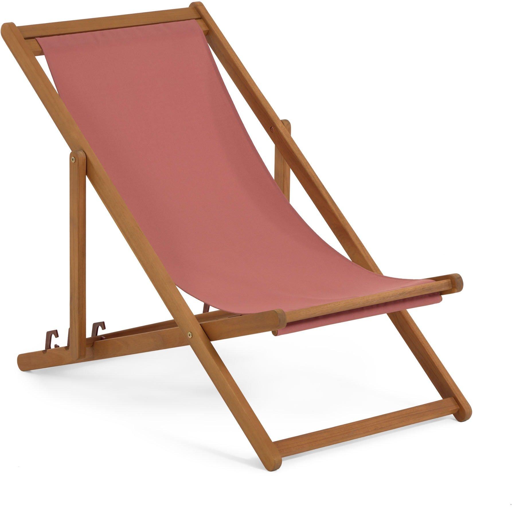 Køb Adredna, Udendørs liggestol by LaForma (H: 68 cm. B: 53 cm. L: 96 cm., Rød)