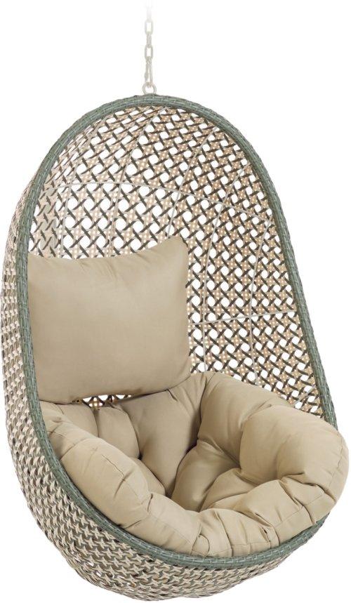 På billedet ser du variationen Cira, Udendørs hængestol fra brandet LaForma i en størrelse H: 121 cm. B: 84 cm. L: 82 cm. i farven Grøn