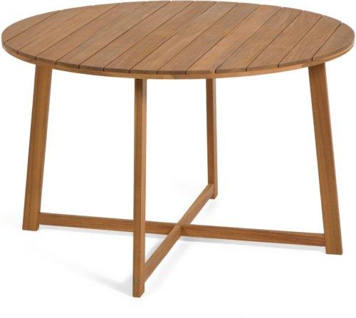 På billedet ser du variationen Dafne, Udendørs spisebord fra brandet LaForma i en størrelse H: 75 cm. B: 120 cm. L: 120 cm. i farven Natur