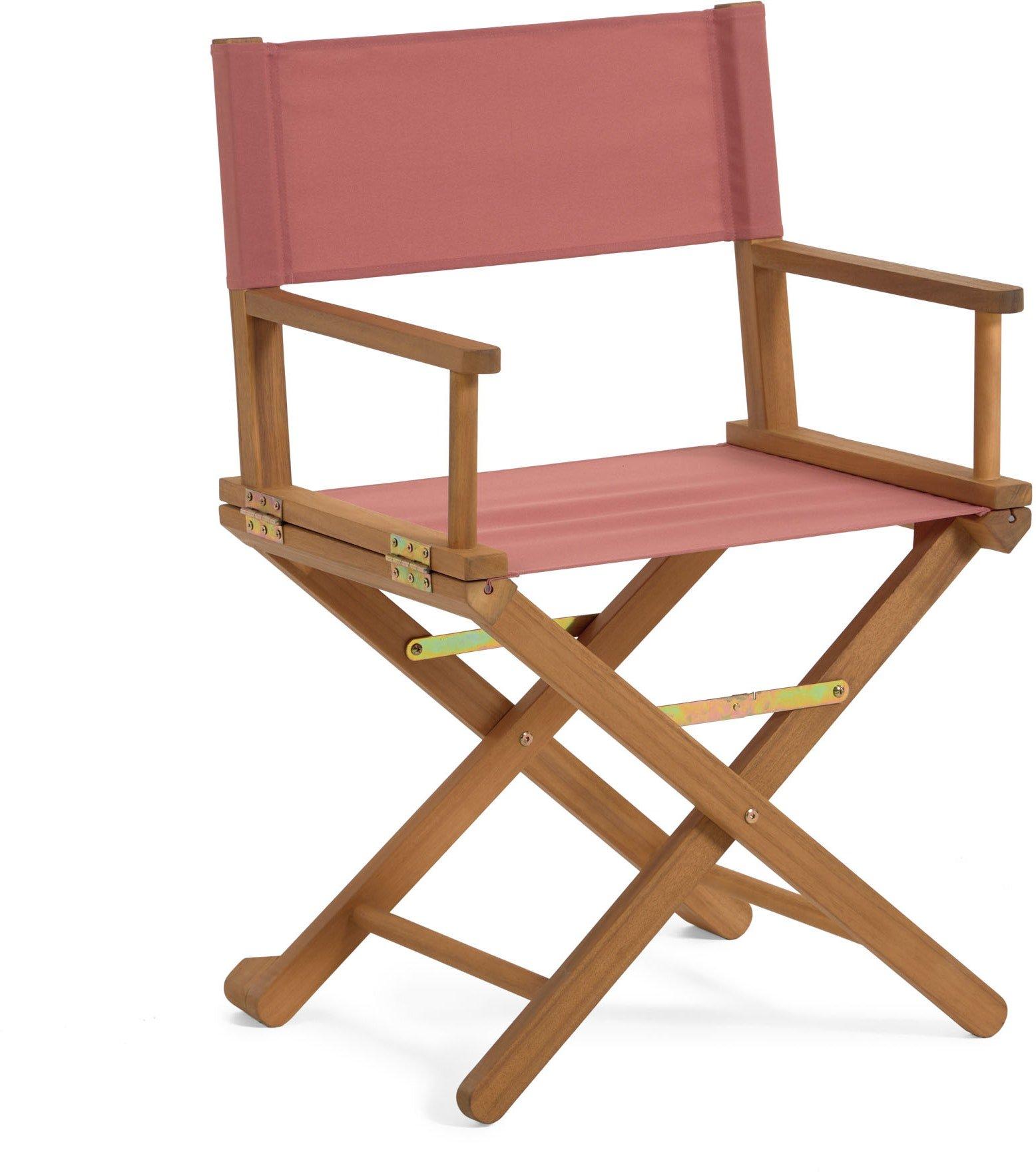 Dalisa, Udendørs spisebordsstol by LaForma (H: 88 cm. B: 55 cm. L: 43 cm., Rød)