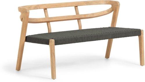 På billedet ser du variationen Ezilda, 3-personers sofa fra brandet LaForma i en størrelse H: 65 cm. B: 122 cm. L: 62 cm. i farven Grøn