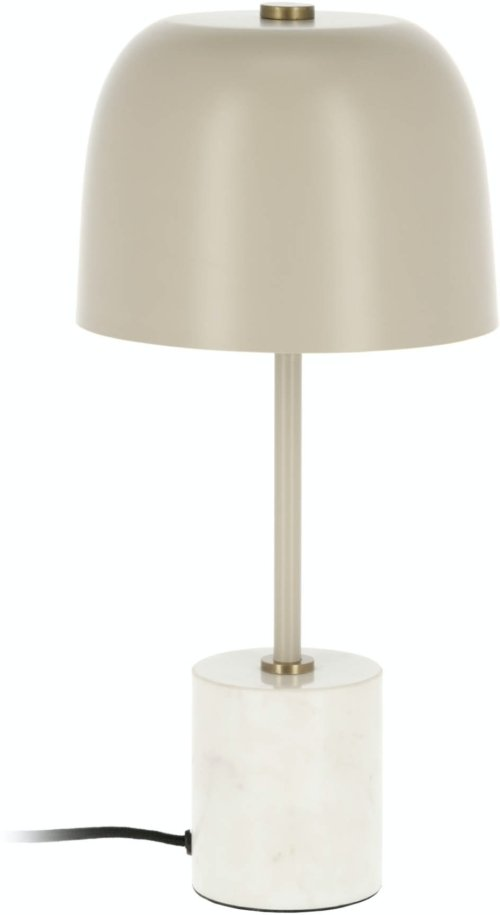 På billedet ser du variationen Alish, Bordlampe fra brandet LaForma i en størrelse H: 42 cm. B: 20 cm. L: 20 cm. i farven Beige
