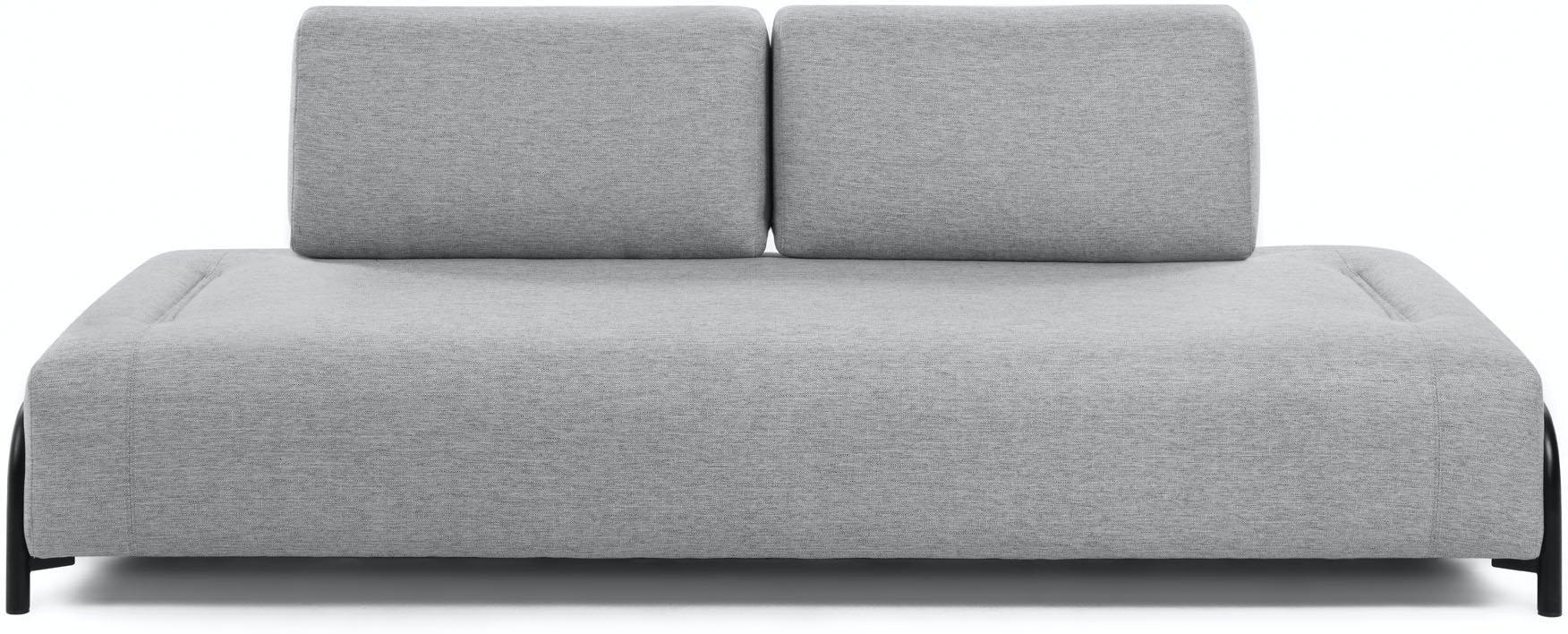 Compo, 3-personers sofa by LaForma (Uden armlæn, Grå)